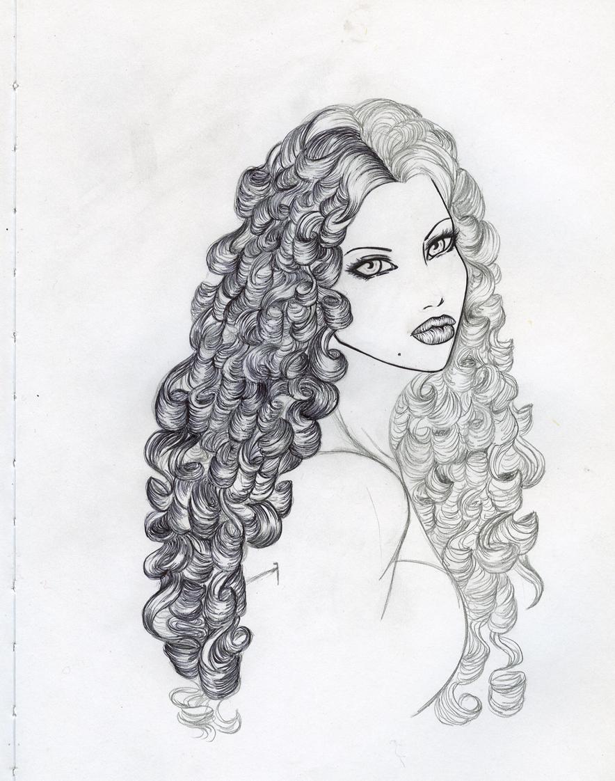 Curls by silentdragoness