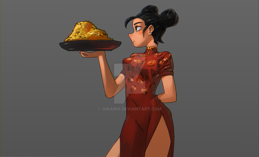 Fried Rice by Oinario
