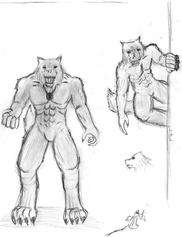 Hombre lobo en verdad existen