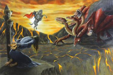 The Dragonslayer by DouglasRamsey