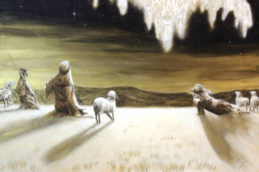 Shepherds Detail by DouglasRamsey