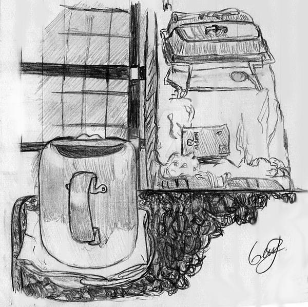 Fondo: Taza y bandejas by Zinam
