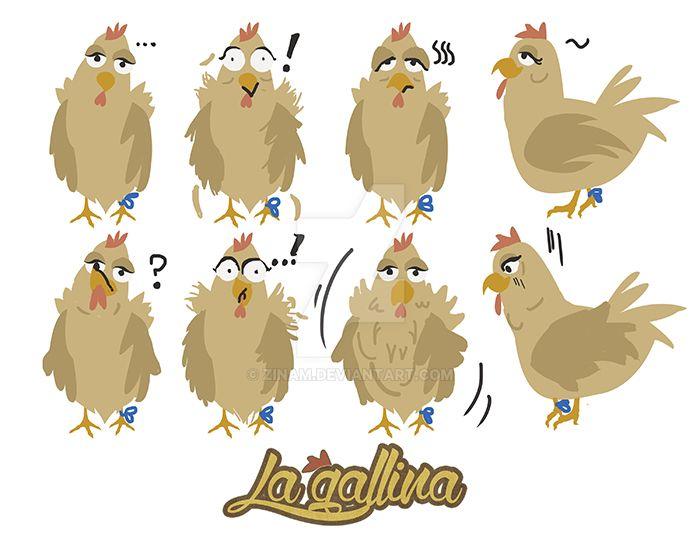 La gallina: Cartera de emociones by Zinam