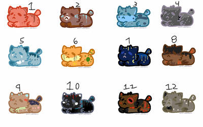 Cheap Little Catto Adopts (2/12 OPEN) by Tipsy-Adopts