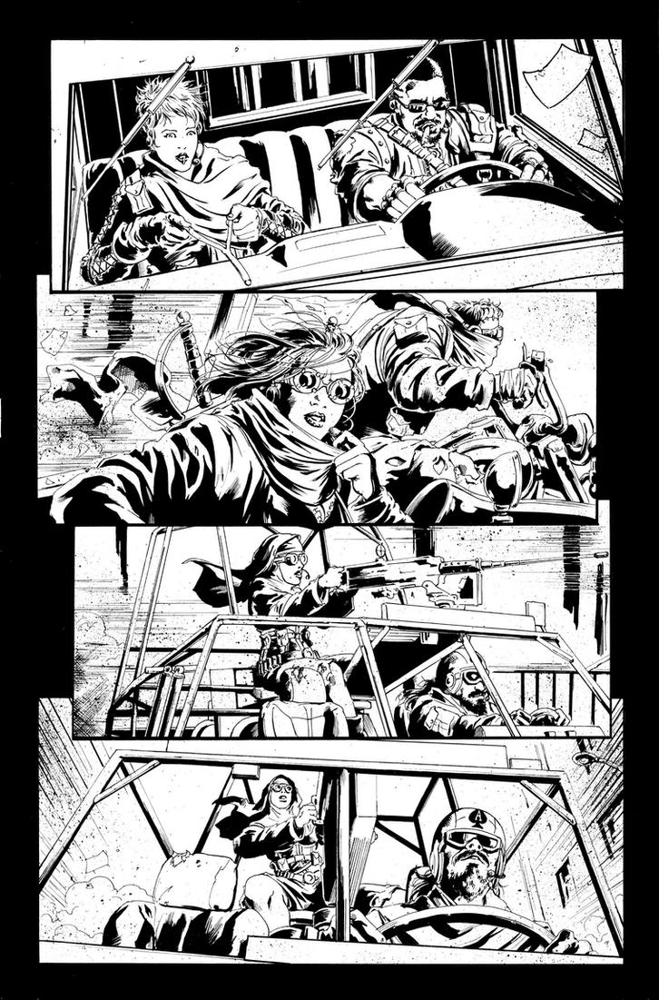 Army of Darkness 1 Page 02 by kewber