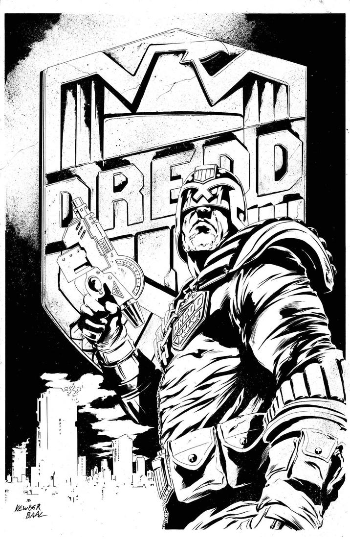 Judge Dredd by kewber