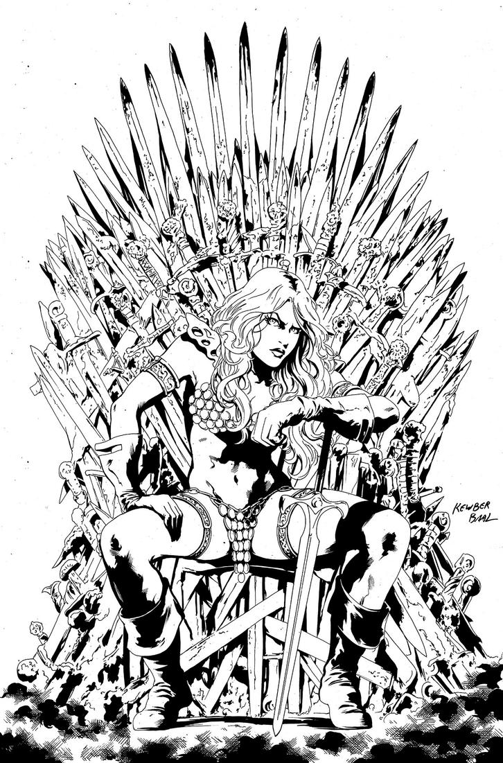 RedSonja Inks 200dpi by kewber