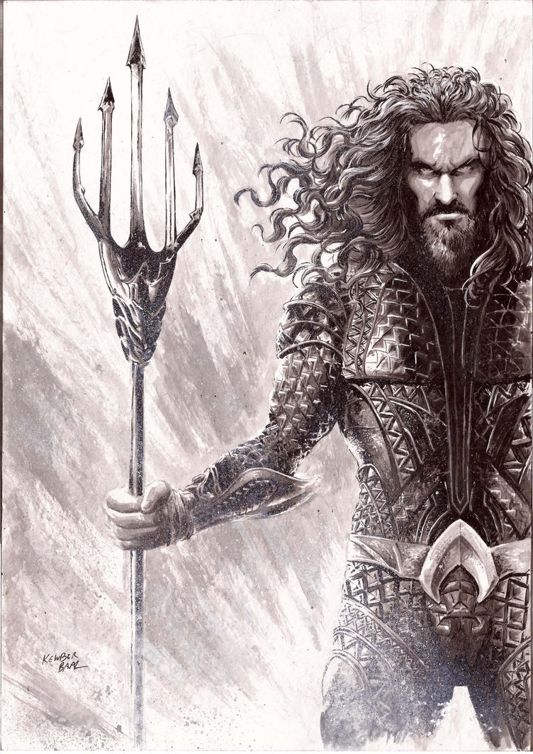 Aquaman by kewber