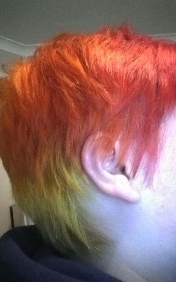 My new hair colour! by Drinya