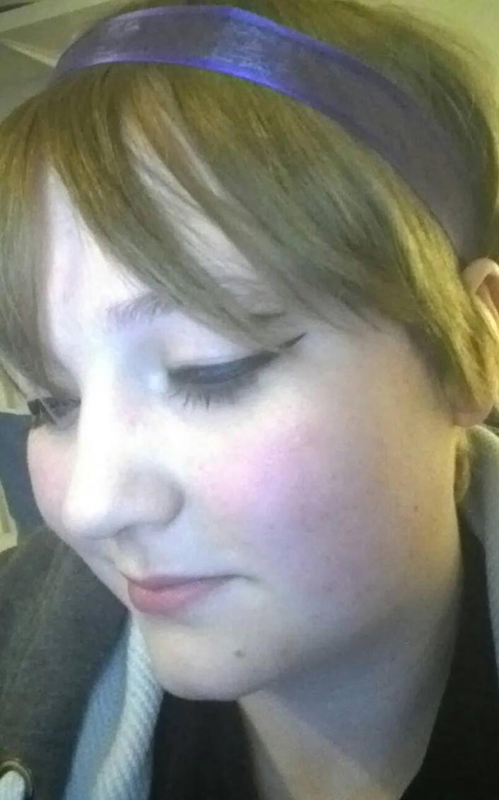 Normal hair new makeup and hair ribbon 2 by Drinya