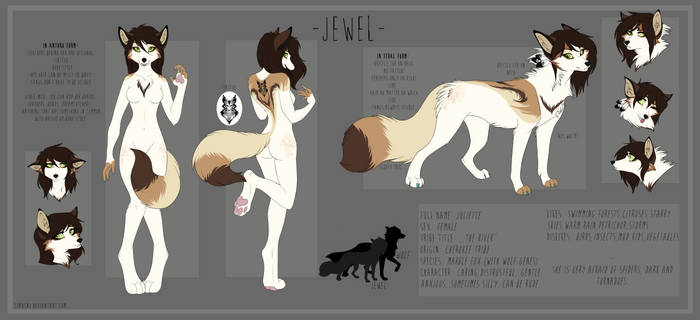 Jewel ,,The River'' official character sheet