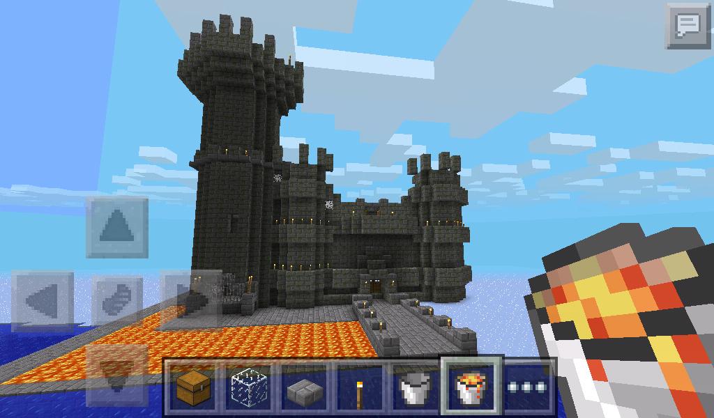 Unfinished Castle Minecraft PE by BreezeFox on DeviantArt