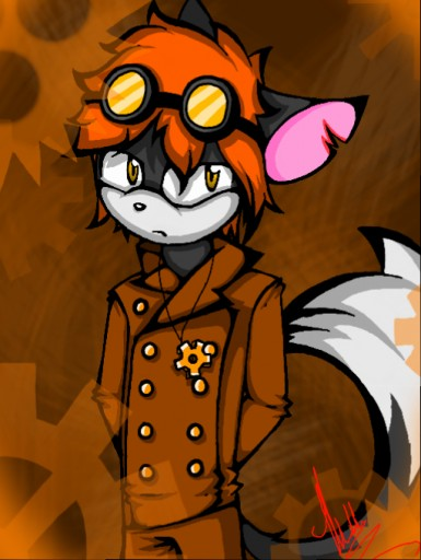 Steampunk Lysander by BreezeFox