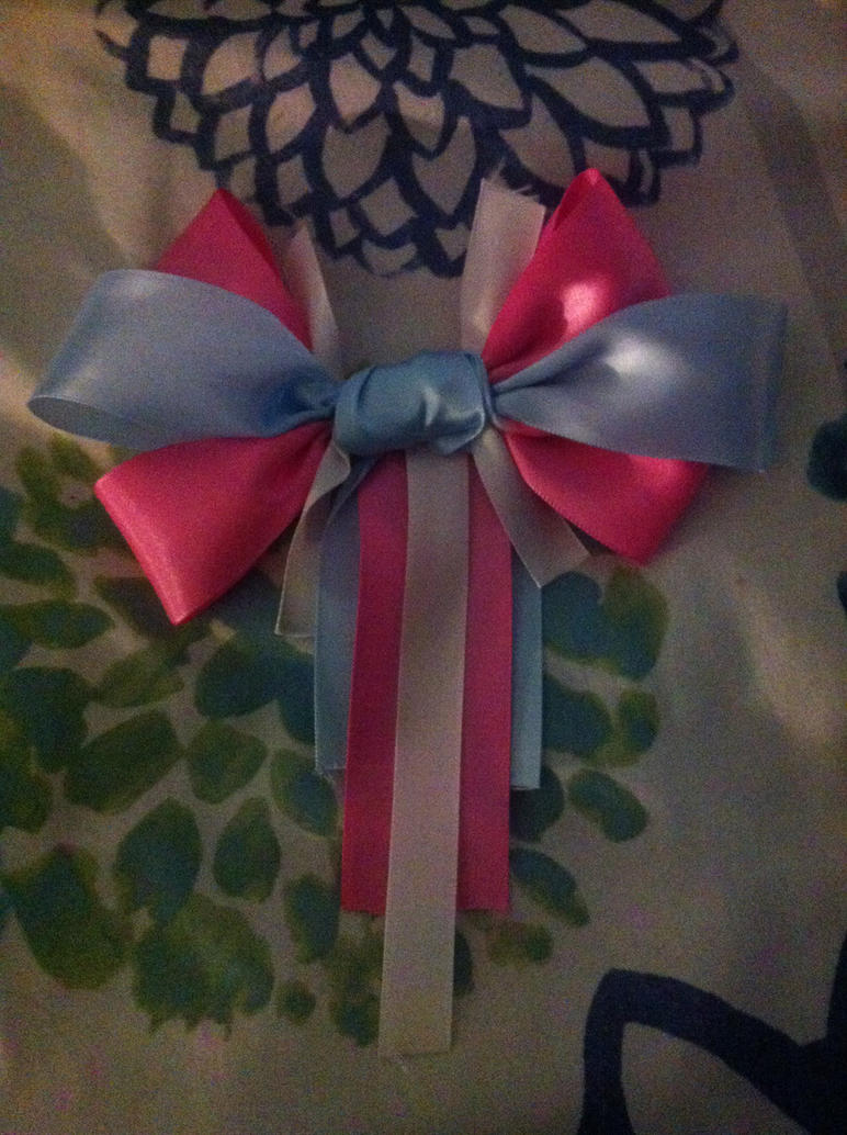 Trans* Pride Custom Bow Tie by BreezeFox
