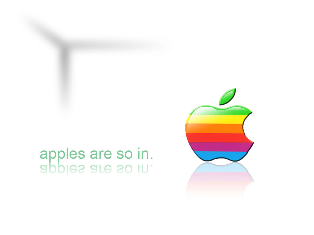 apples are so in. by dENiM06