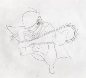 BB Warrior sketch