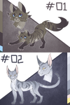 Warrior Cats Auction 01 - 02 [CLOSED]