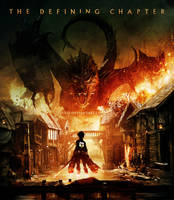 Attack on Smaug by psyxi0