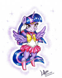 Twilight Sparkle - Sailor Moon