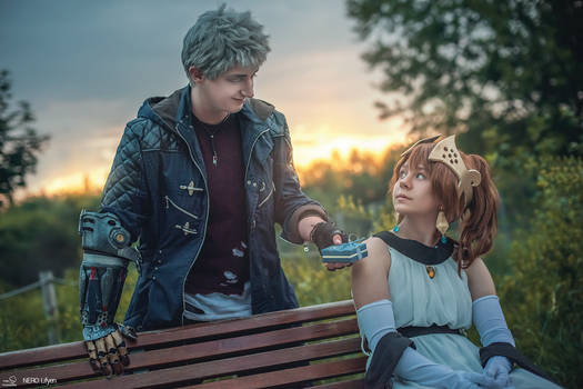 Nero and Kyrie Cosplay - Devil May Cry