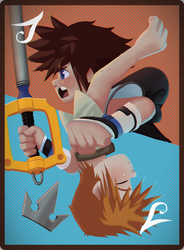 Kingdom Hearts 3 Card [Collab]