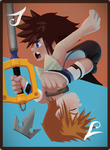 Kingdom Hearts 3 Card [Collab] by Laughe