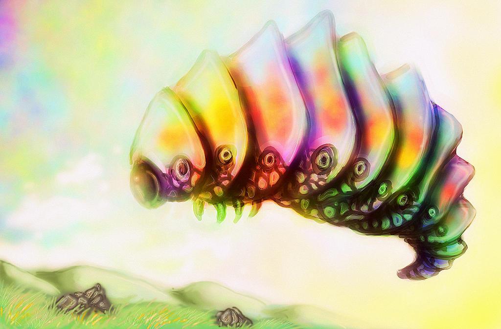 Caterpillar by Pyreshard