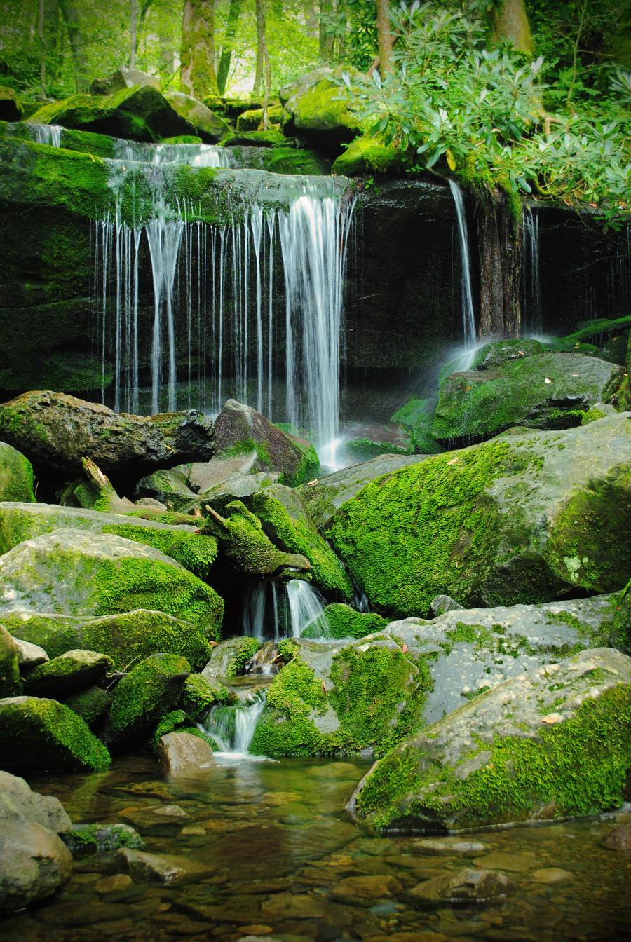 Waterfall by RawPoetry