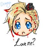 APH - Love me - Denmark by BunnyHomo