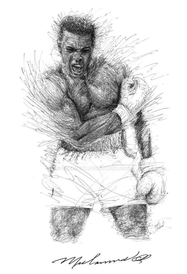 Muhammad Ali By Erickcent On Deviantart
