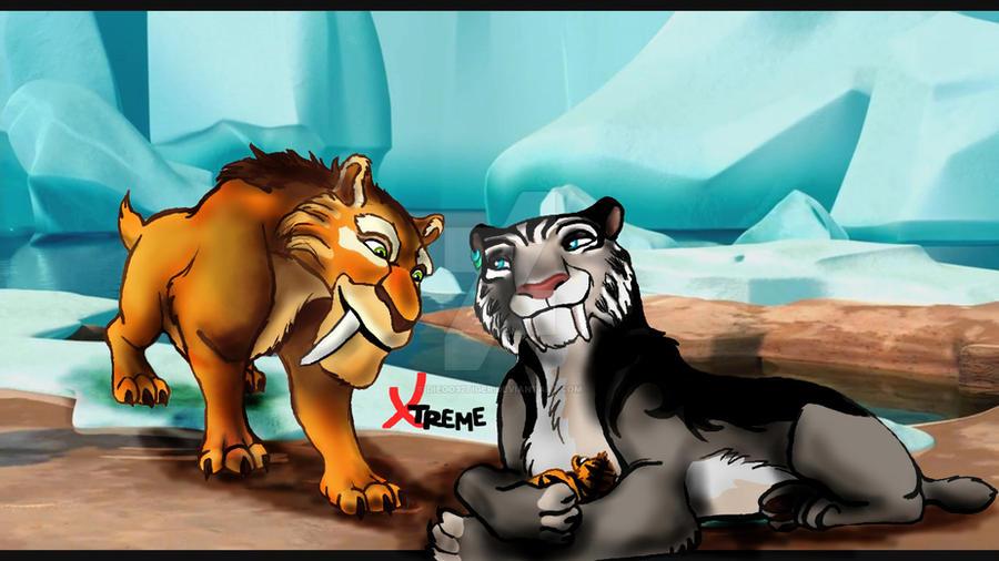 ice age 4 shira and diego meet