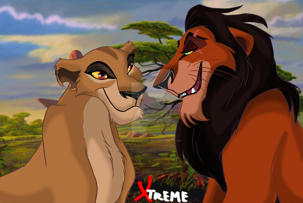 The Lion King - Zira and Scar by Diego32Tiger on DeviantArt