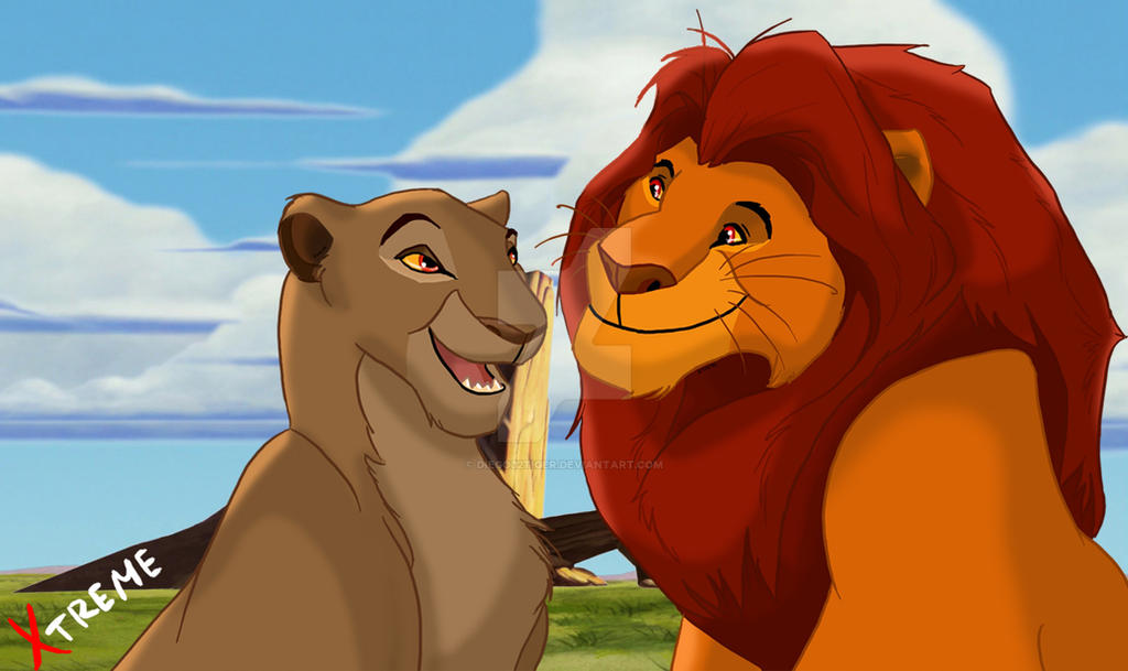 The Lion King - Mufasa and Sarabi by Diego32Tiger on ...