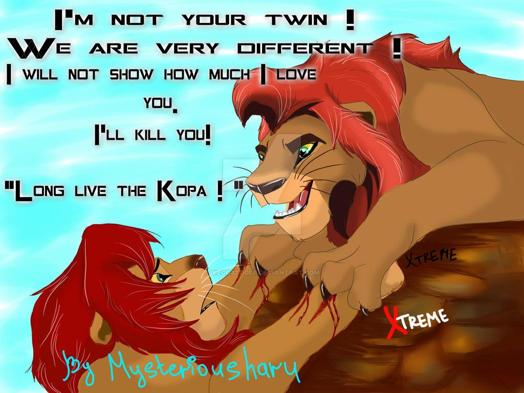 Lion King Kopa Died