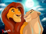 The Lion King - Mufasa and Sarabi in youth