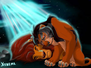 The Lion King - Mufasa and Scar