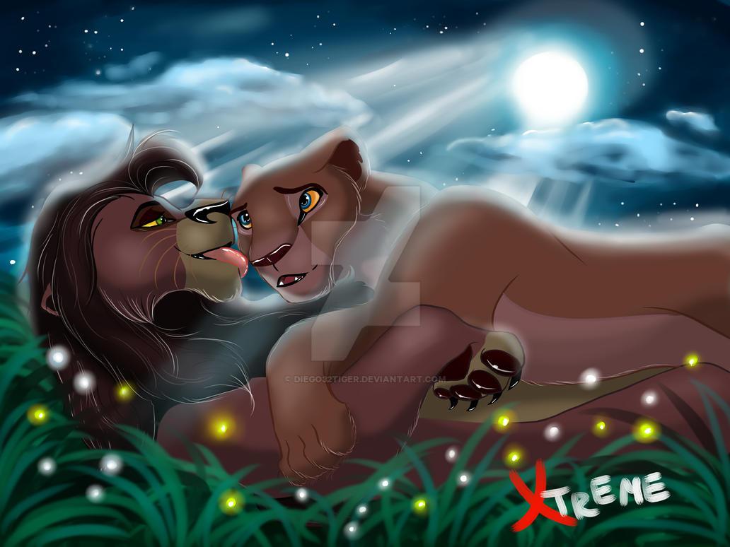 The Lion King Fan Art KiaraampKovu  Everything