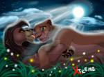 The Lion King - Nala and Kovu