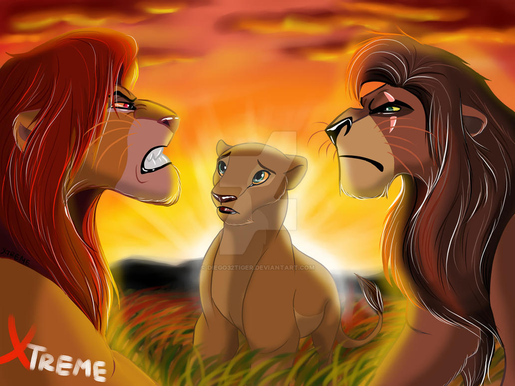 The Lion King -Treason - Exposing - Battle by Diego32Tiger ...