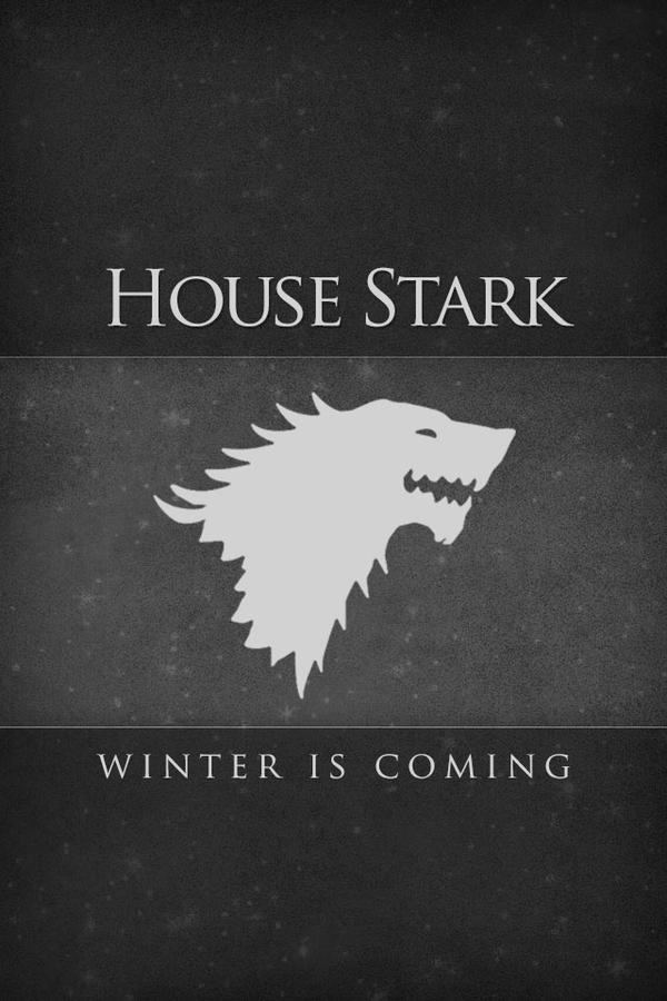 GoT House Stark iPhone Lock Screen Wallpaper by taidoan on ... House Stark Wallpaper Android