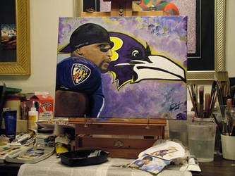 Commissioned piece for Baltimore Ravens Fan by dawnssong4u
