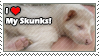 Pet Skunks - Temporary Stamp by Nutbuckets