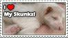 Pet Skunks - Temporary Stamp by Nutbuckets