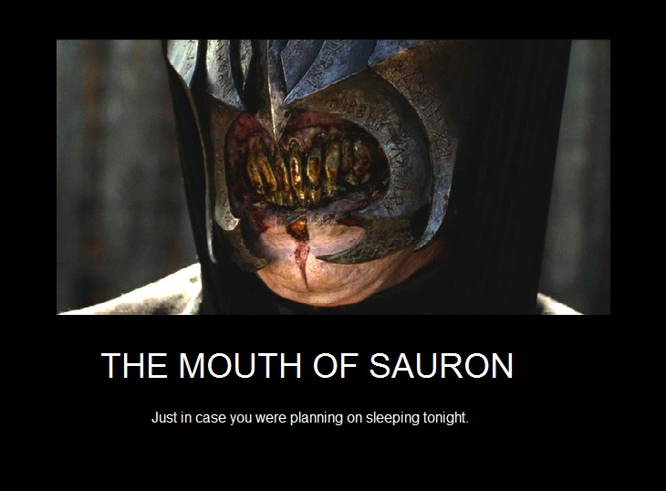 valentine's day memes lord of the rings - The Mouth of Sauron by TheLadyMorgana on DeviantArt