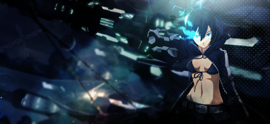 Black Rock Shooter. by UchihaTheDead