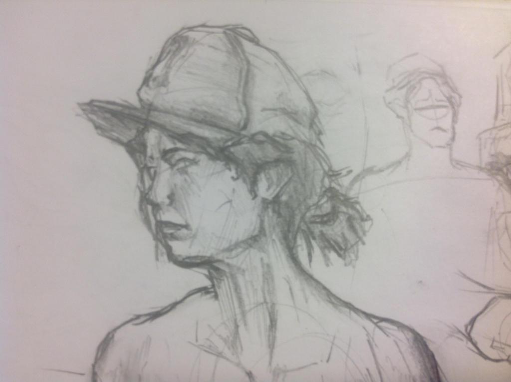 Clementine Sketch by Zalonio
