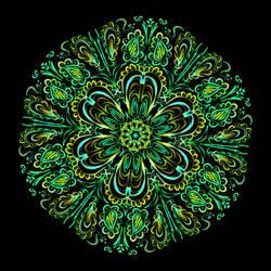 Spring Green Mandala