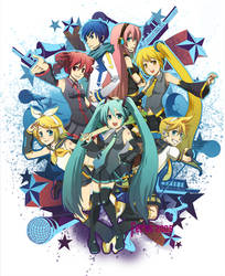 Vocaloid Explosion by ferus