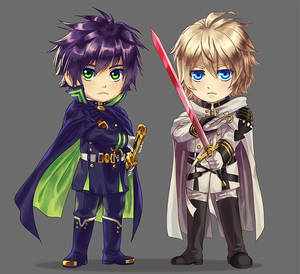 Owari No Seraph: Brothers