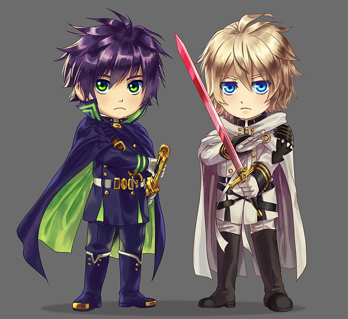 Owari No Seraph: Brothers by ferus